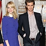 Andrew Garfield and Emma Stone got dressed in their best to visit the Empire State Building in NYC in June 2012.