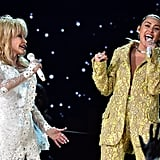 Dolly Parton and Miley Cyrus