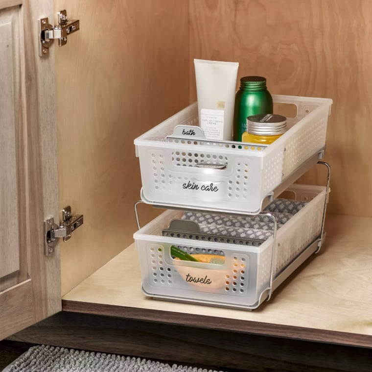 This Is the Best Bathroom Organizer From Target
