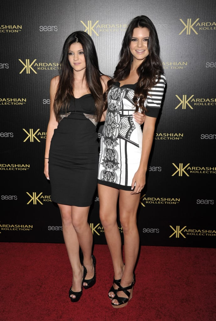 Kendall Jenner and sister Kylie Jenner.