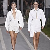 Kendall and Bella Opened the Off-White Show Side by Side