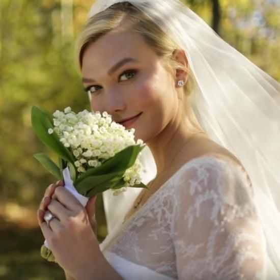 Watch How Karlie Kloss's Dior Wedding Dress Was Designed