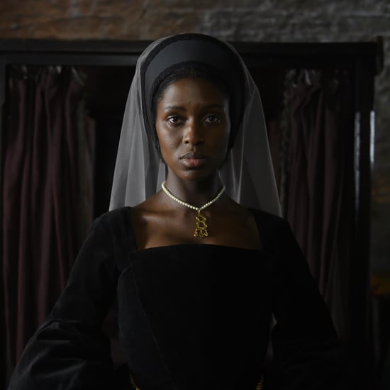 Jodie Turner-Smith in Channel 5's Anne Boleyn