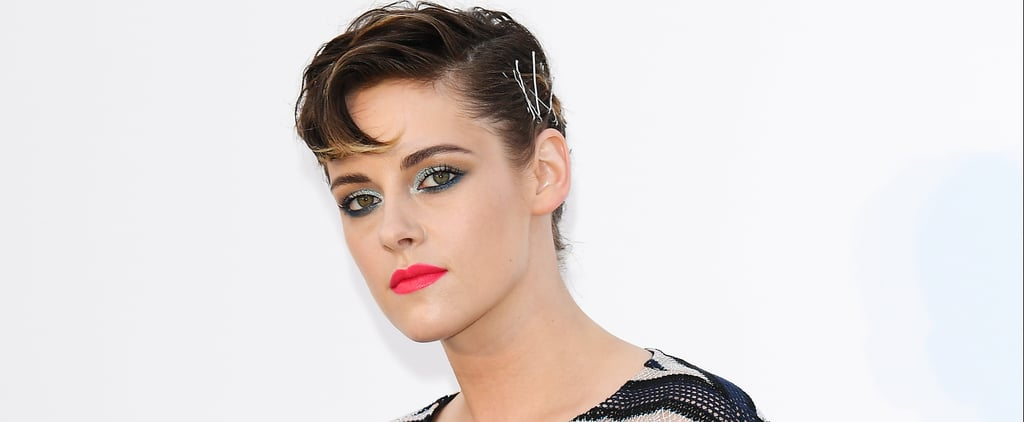 Kristen Stewart's Bobby Pin Hairstyle at Cannes 2018