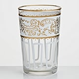 White Moroccan Tea Glasses Set of 6 ($36)