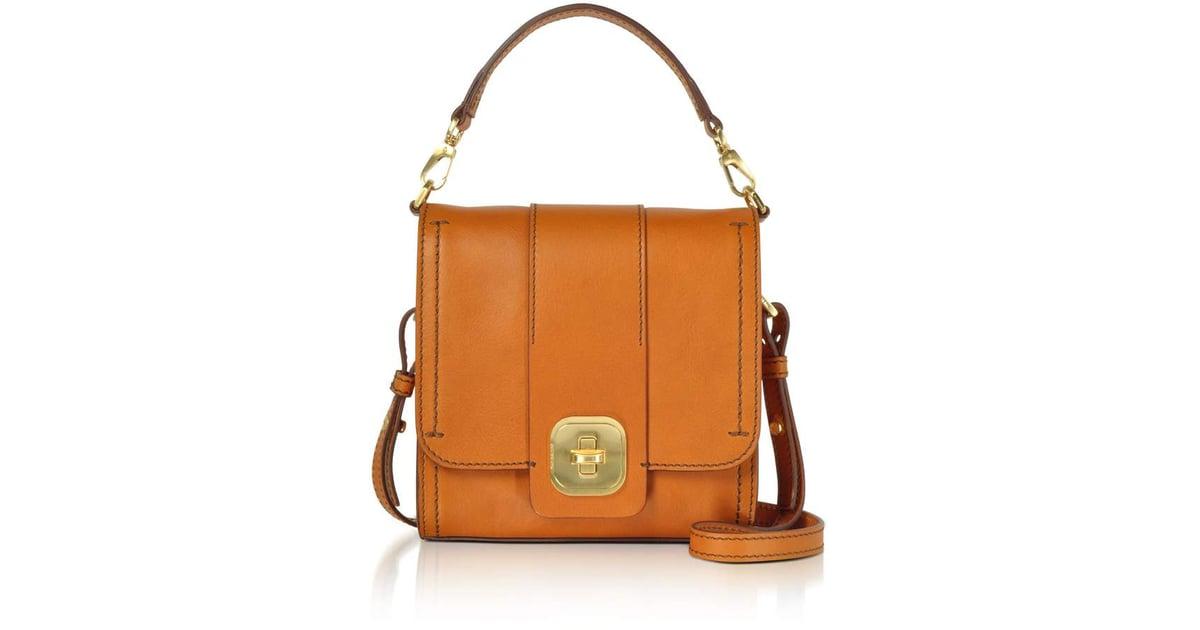 955d53d7560f The Bridge Genuine Leather Top Handle Crossbody Bag