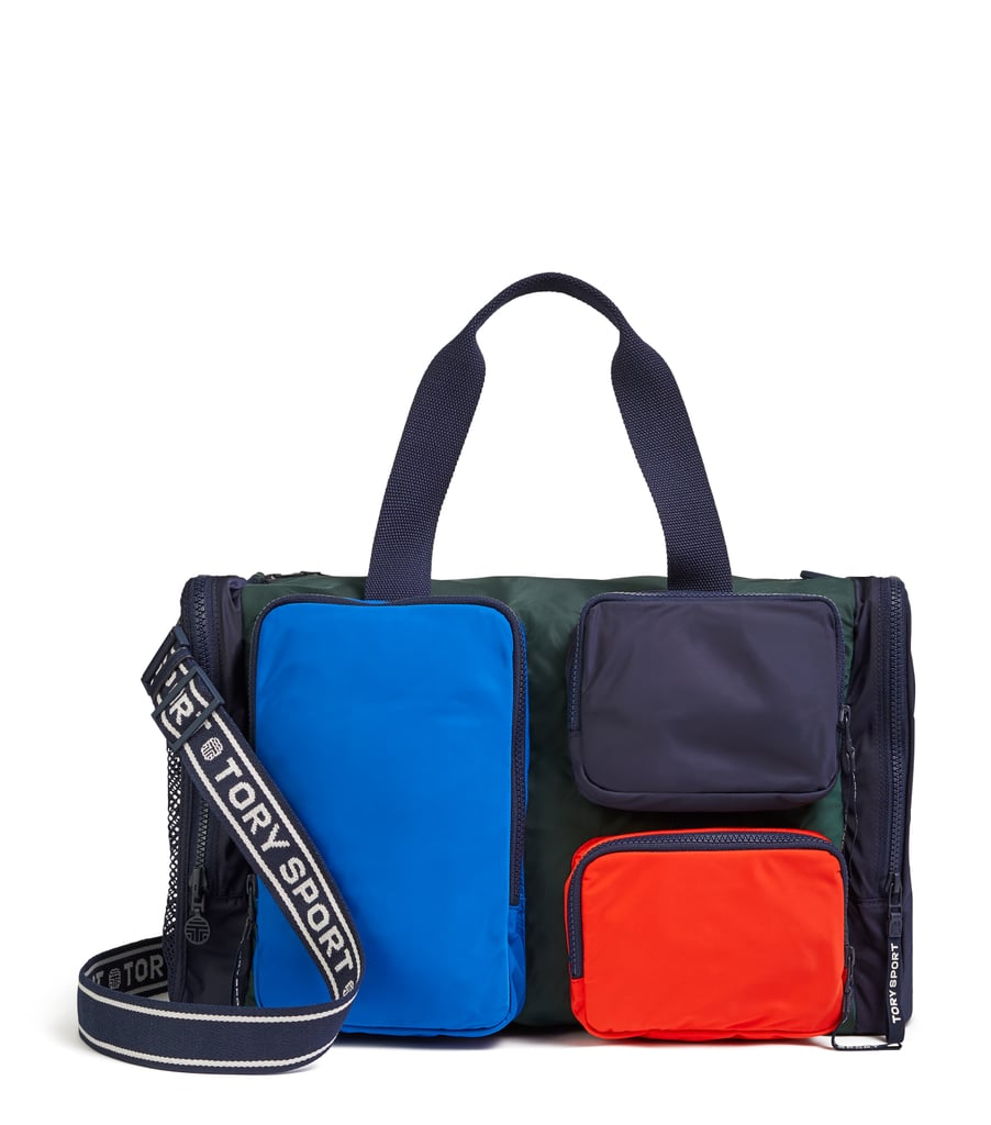 Color-Block Packable Satchel