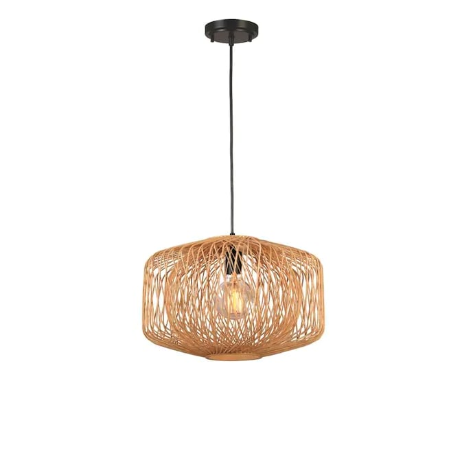 allen + roth Harlowe Traditional Globe Pendant Light