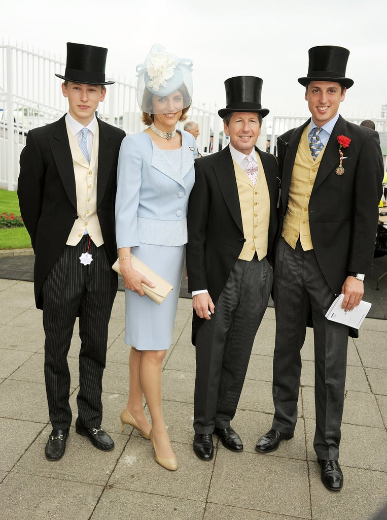 Alexander Warren, Lady Carolyn Warren, Sir John Warren, and Jake Warren attended the event.