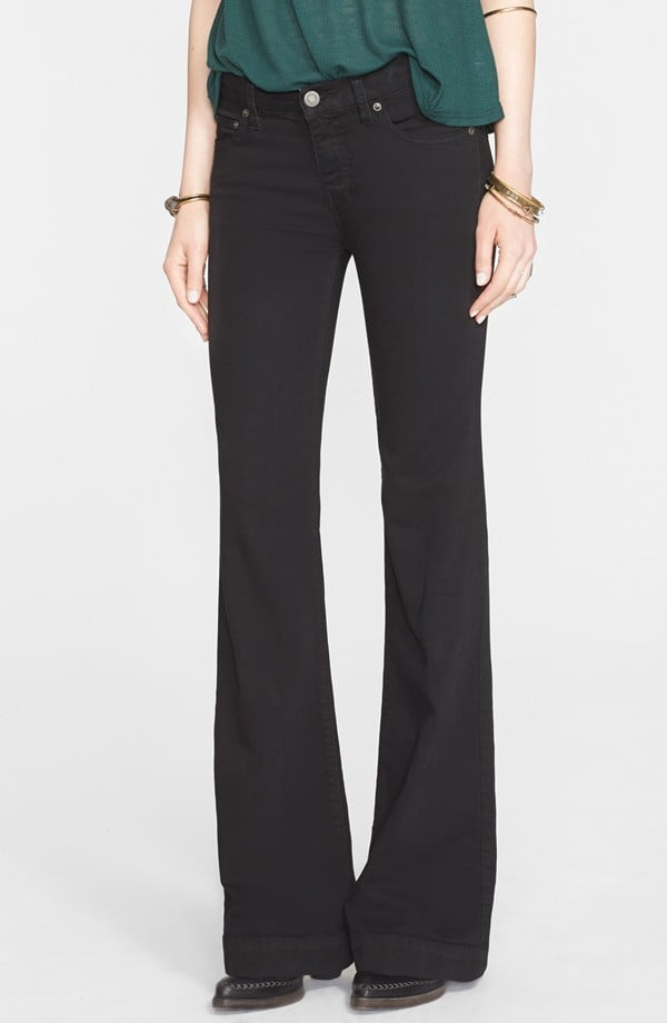 Free People 'Gummy' Mid Rise Flare Jean ($78)