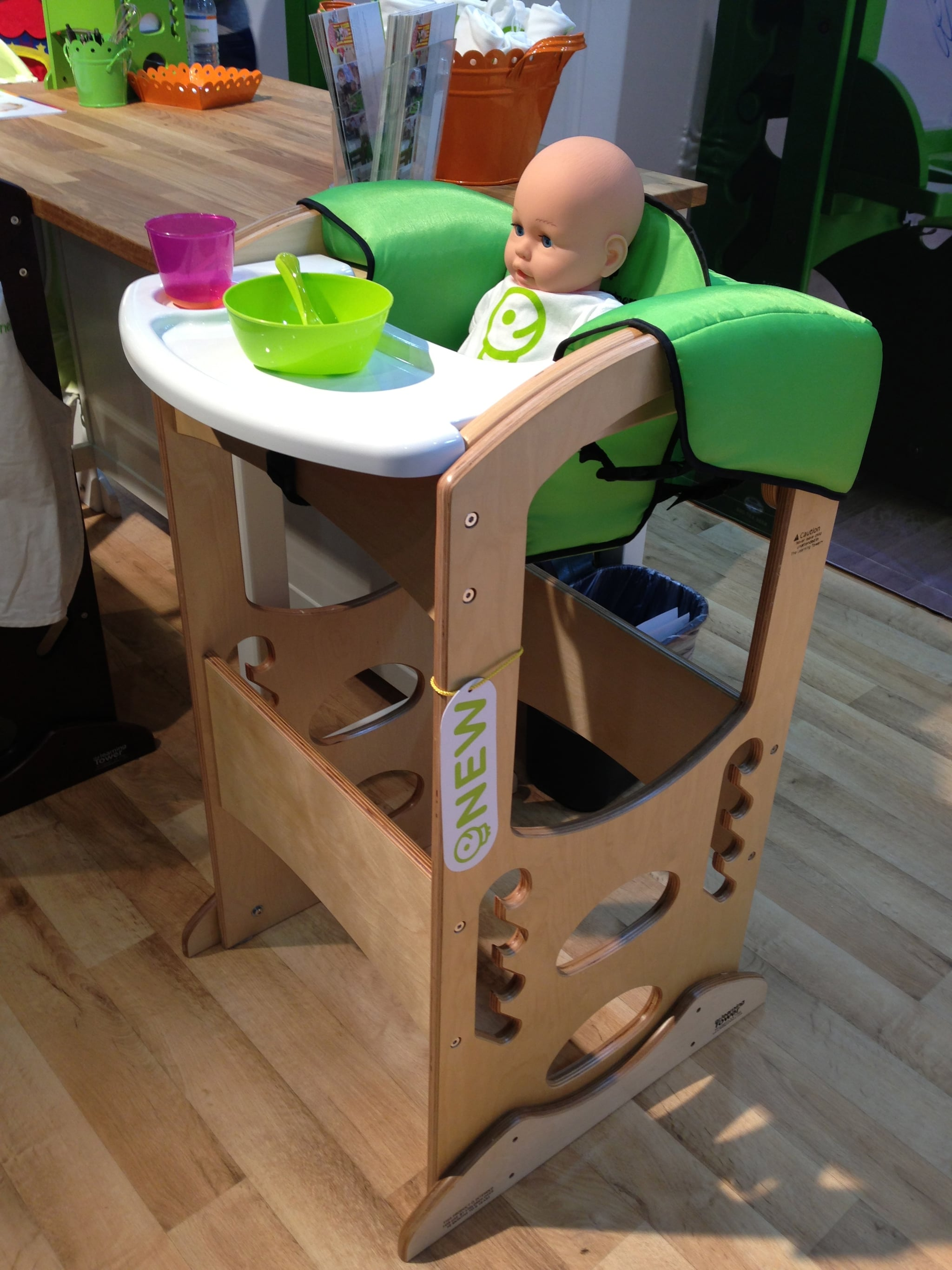 Little Partners' Learning Tower High Chair