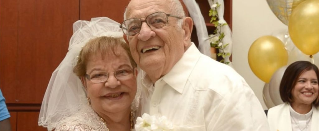 80-Year-Old Bride Gets Married For the First Time