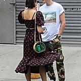 Dua Lipa's Marianna Senchina Polka-Dot Outfit