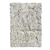 Luxe Hudson Faux Fur Sheepskin Throw