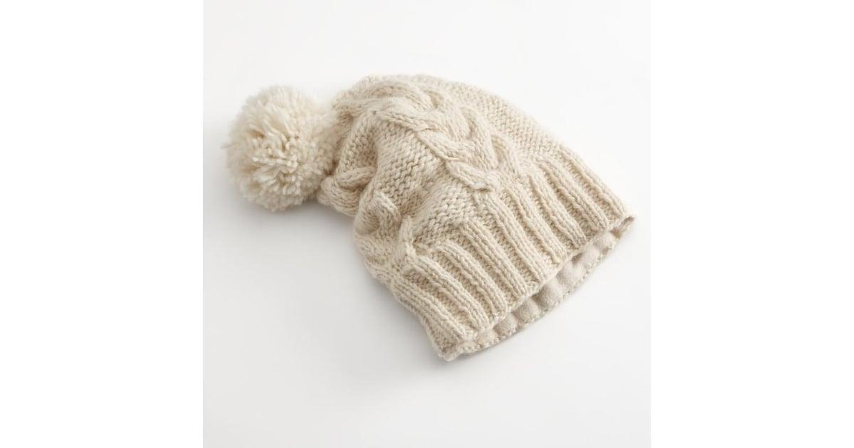 36cec974477 Sijjl Floppy Cable-Knit Wool Beanie