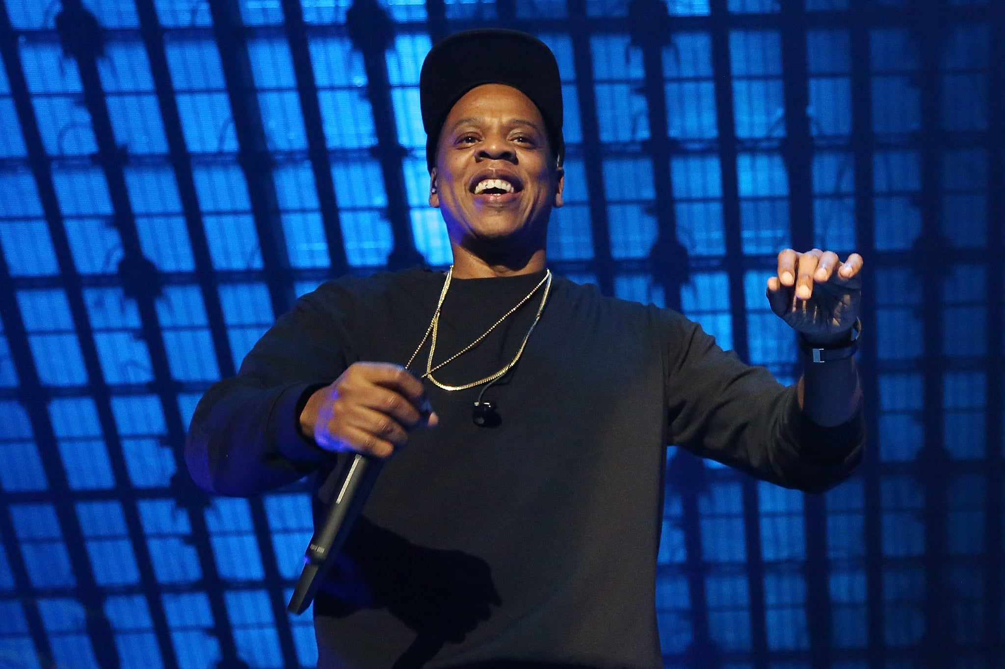 NEW YORK, NY - OCTOBER 20:  Jay Z performs during Tidal X: 1020 at Barclays centre on October 20, 2015 in the Brooklyn borough of New York City.  (Photo by Taylor Hill/FilmMagic)