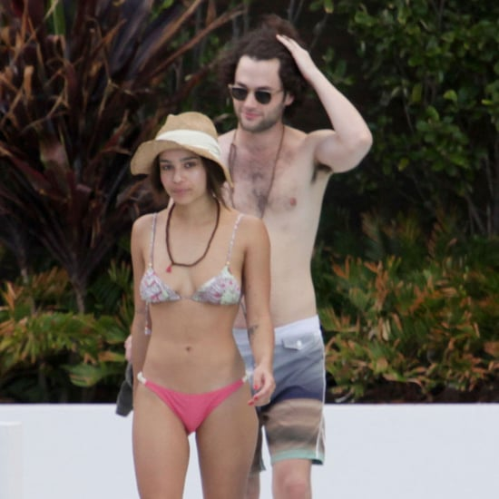 Zoe Kravitz Bikini Pictures With Shirtless Penn Badgley