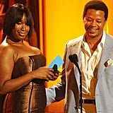 Pictured: Jennifer Hudson and Terrence Howard