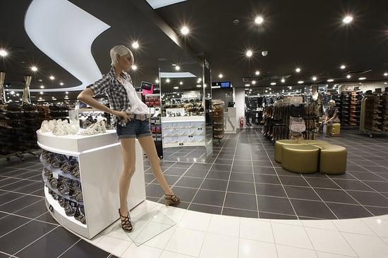 New Look Open Shoe Store in London