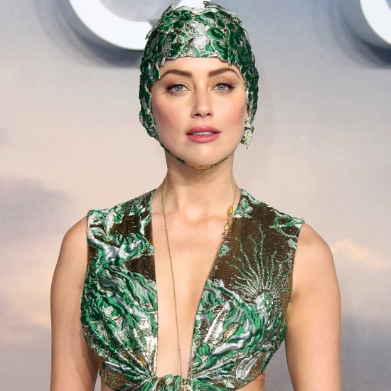 Amber Heard's Valentino Gown at Aquaman Premiere 2018