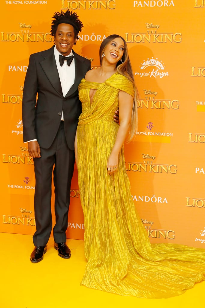 Beyonc 233 S Dress At The Lion King Premiere In London