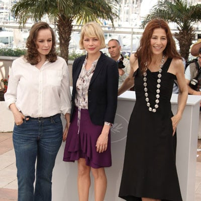 Michelle Williams, Catherine Keener and Samantha Morton at Synecdoche, New York Photocall