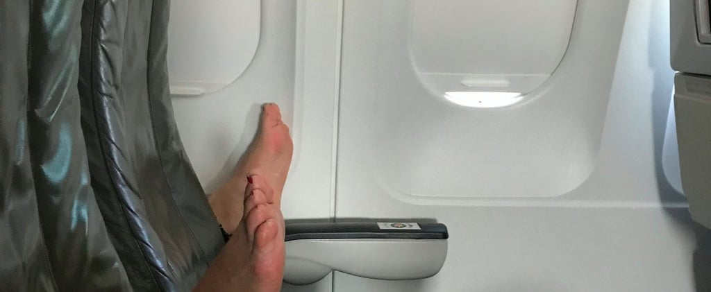 Nope! What This Person Did on a Plane Is Not OK in the Very Least