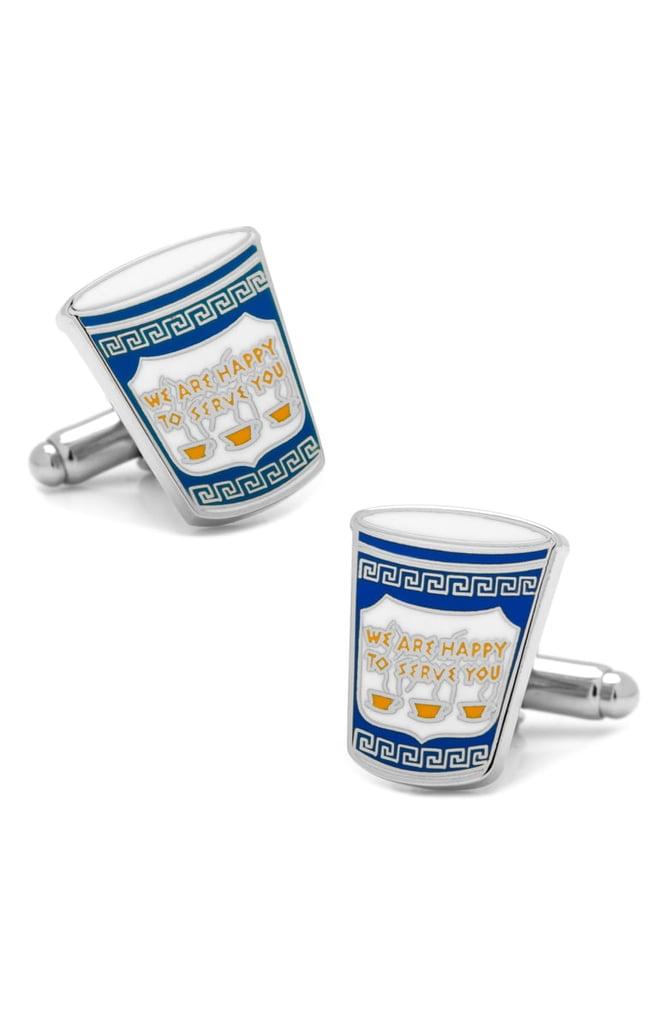 Cufflinks, Inc Greek Coffee Cup Cuff Links