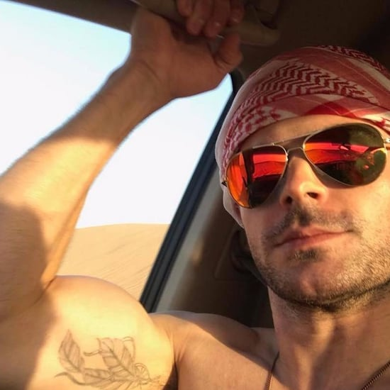 Zac Efron Shares Dubai Pictures on Instagram