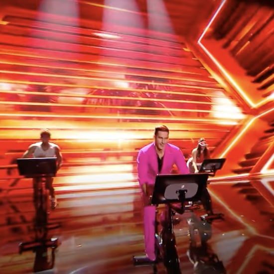 Cody Rigsby Starts DWTS Tango Performance on a Spin Bike