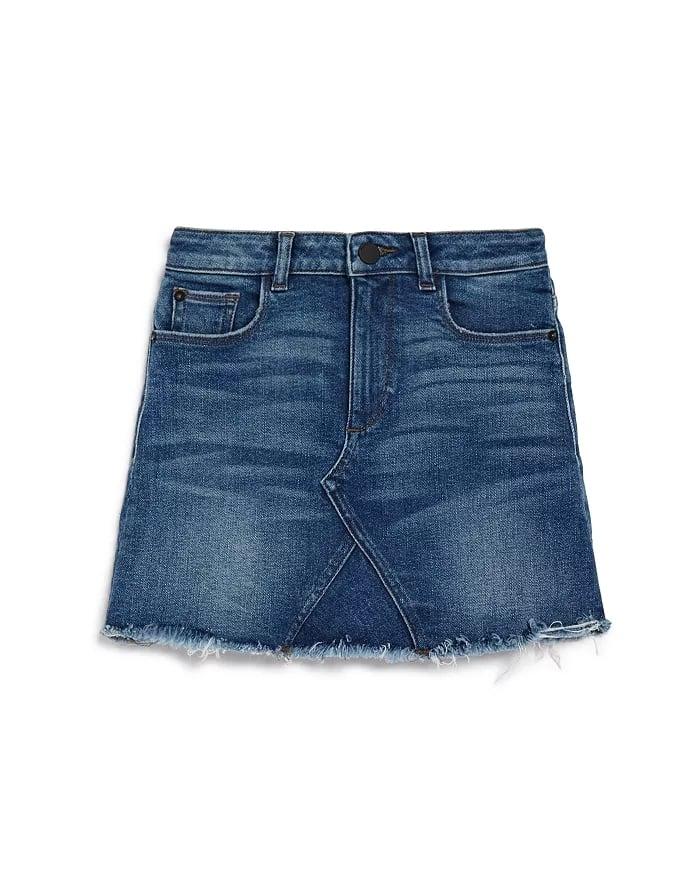DL1961 Girls' Frayed Denim Skirt