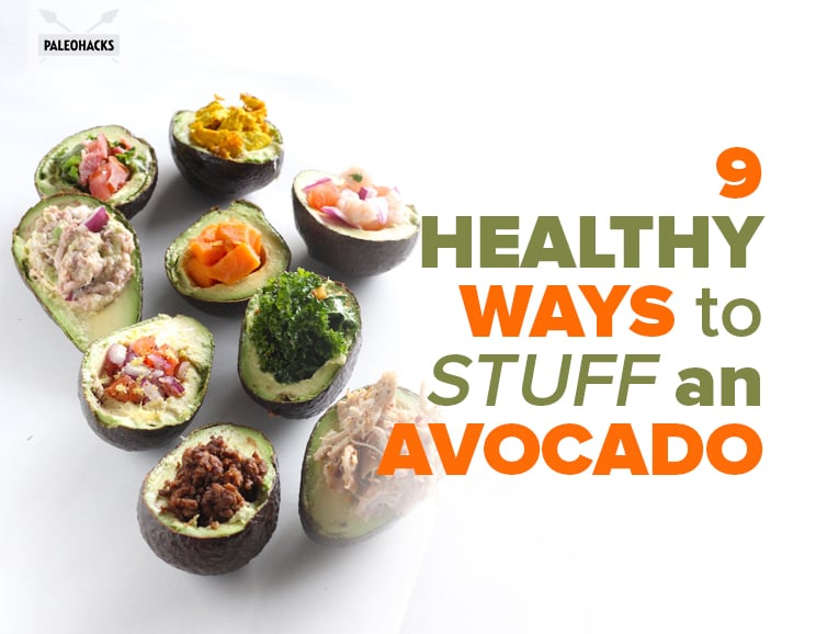 9 Stuffed-Avocado Recipes For Almost Every Meal of the Day