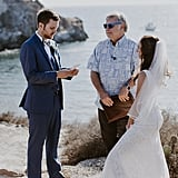 This Adorable Couple Who Met in College Had Their Professor Officiate Their Elopement