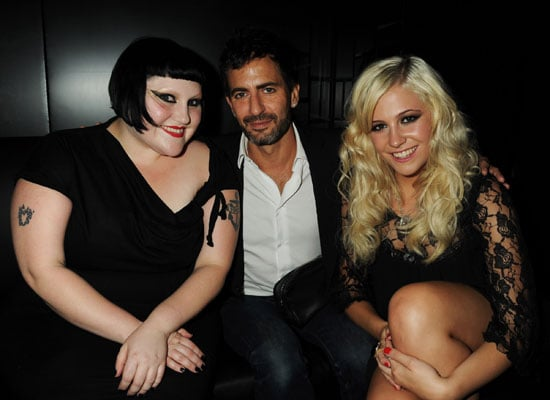 Beth Ditto, Marc Jacobs and Pixie Lott