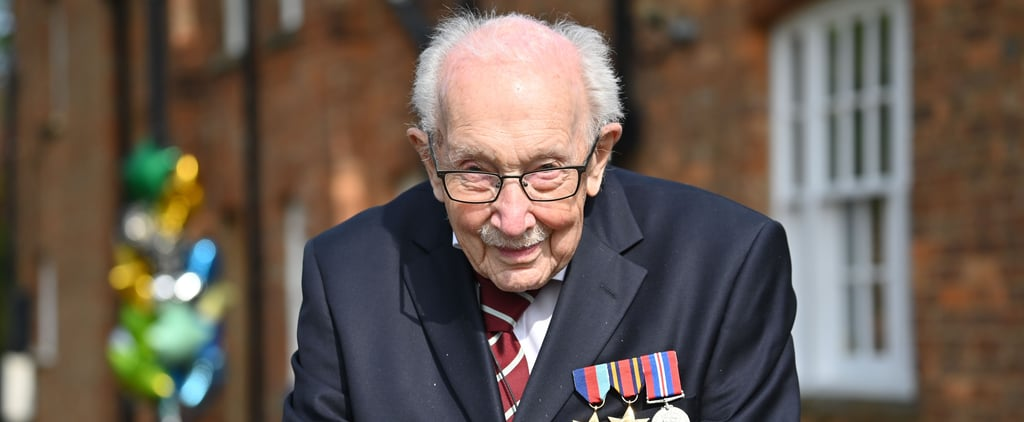 Captain Tom Moore to Be Knighted by the Queen