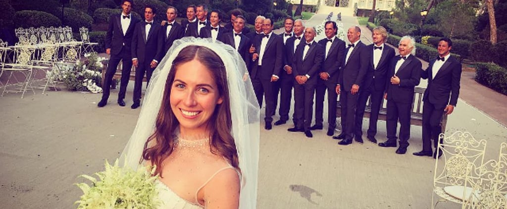 This Bride's Wedding Was So Stylish, It Put Fashion Month on Pause