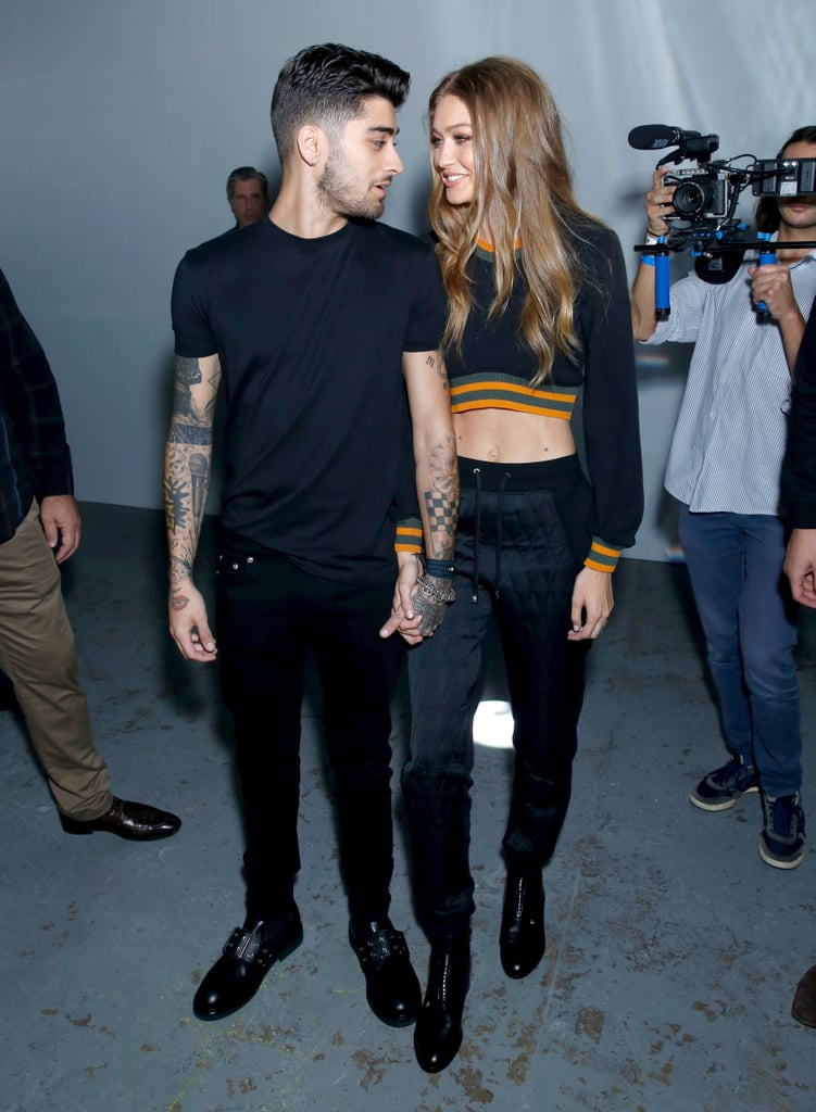 Gigi Hadid and Zayn Malik have quite the love story, and now it's about to get even sweeter. The couple is reportedly expecting their first child together! The 25-year-old model and 27-year-old singer first struck up a romance in November 2015, and they have been dating on and off again ever since. In February 2020, they confirmed that they were back together when Gigi posted a sweet Valentine's Day post. Over the years, the pair has given us multiple glimpses of their romance as they step out together for official appearances (including the Met Gala) or just show off their couple style in the streets of NYC. And let's not forget about all of their lovey-dovey Instagram posts. Read on for more cute moments.      Related:                                                                                                           Gigi Hadid and Zayn Malik's Relationship Timeline Is Rich With Romantic Moments