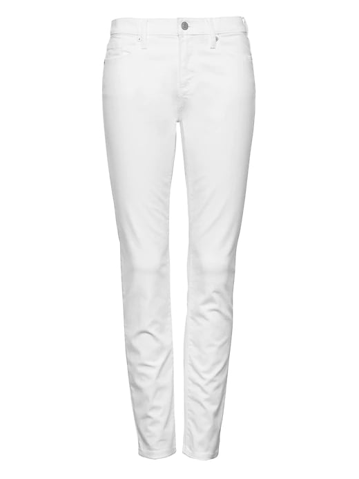 Skinny Stain-Resistant Ankle Jean