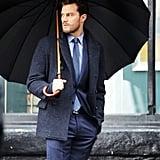 Holding an Umbrella
