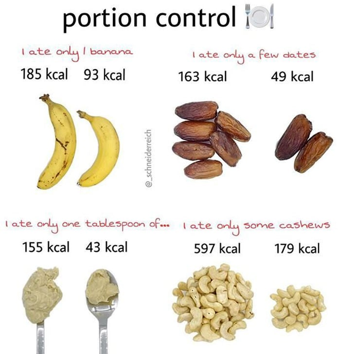 Portion Control Weight Loss Tip | POPSUGAR Fitness