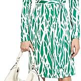 Diane von Furstenberg New Jeanne Two Silk Jersey Wrap Dress ($398)
