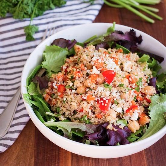 Quinoa Chickpea Salad Recipe