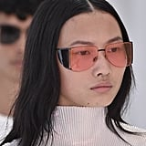 Sunglasses on the Helmut Lang Runway at New York Fashion Week
