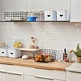 Open Spaces Clean Kitchen Set