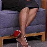 Mindy Kaling's Clear Christian Louboutin Heels