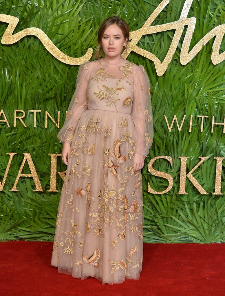tanya burr british fashion awards red carpet dresses