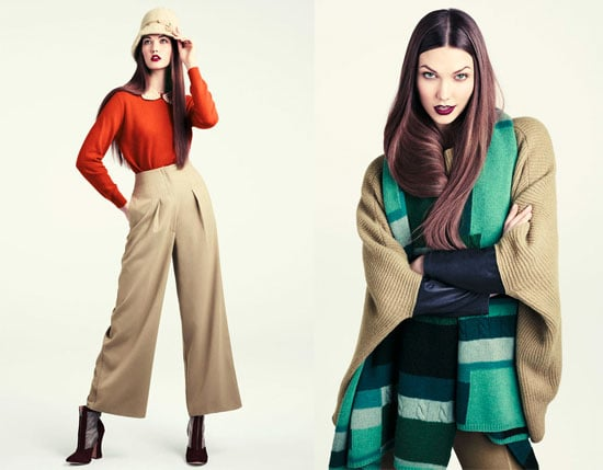 Karlie Kloss Stars in H&M's Stand Out Fall H&M 2011 Look Book: Scope the Inspiring Winter Weather Trends!