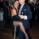 Charles Dancing the Tango in Buenos Aires in March 1999