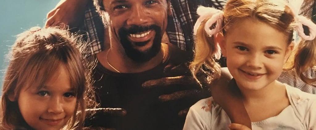 Drew Barrymore and Rashida Jones in E.T. Instagram Photo