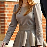 Princess Beatrice of York Age: 24 Royal Profile: Princess Beatrice is the elder daughter of Prince Andrew, Duke of York, and Sarah, Duchess of York. She is the fifth grandchild of Elizabeth II. Style Profile: You may remember Princess Beatrice best for her appearance at Prince William and Kate Middleton's wedding, where she donned an attention-grabbing Philip Treacy fascinator (which went on to earn $123,325 for charity through sale on eBay). It's clear Beatrice has fun with fashion — from her lavish party dresses and event styles to her more understated, chic appearances at Fashion Week, she knows just when to play it cool and when to play up the drama.